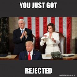 R.I.P Trumps Speech