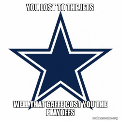 Dallas Cowboys are Trash