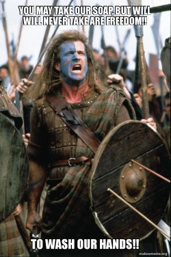 William Wallace soap.