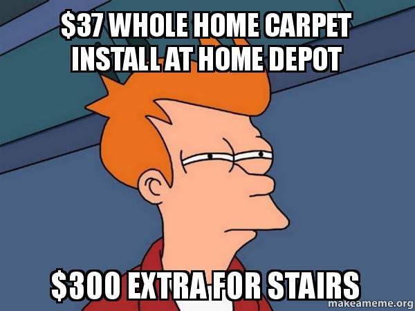Image Result For Home Depot Carpet Install