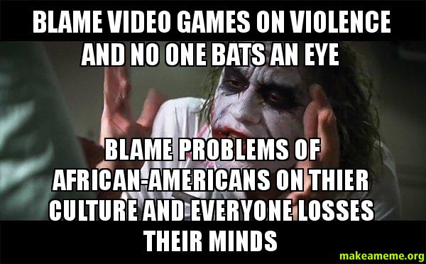 video games and their role in violence Around the world, willfull violence is associated with expressive forms — be it ballads, commemorative posters, video games, or something else — that exemplify, legitimate, and glamorize the use of violent means.