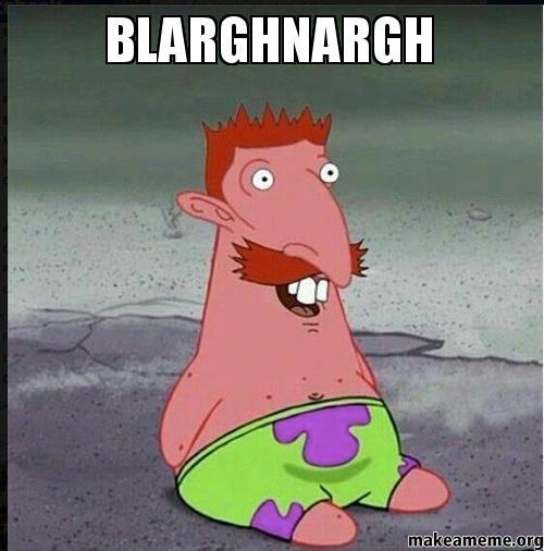 Patrick Star Meme Open Mouth Meme | www.imgkid.com - The ...