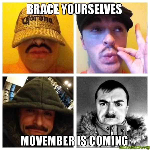 Movember | Euro Palace Casino Blog