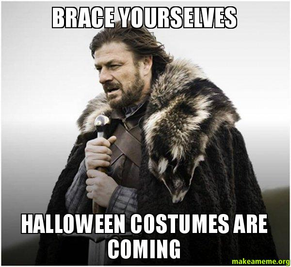 Brace yourselves halloween costumes are coming brace yourself brace yourself game of thrones meme meme solutioingenieria Images