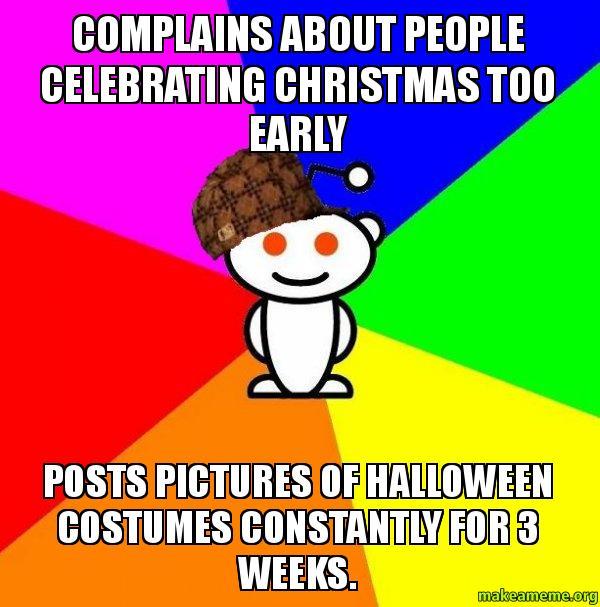 Scumbag Redditor meme