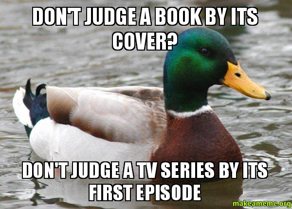 How To Make A Book Cover For Episode : Don t judge a book by its cover tv series