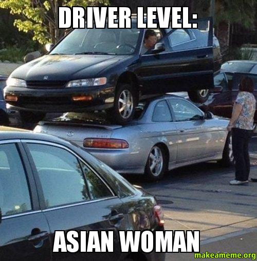 Driver Level Asian Woman  Make A Meme-8315