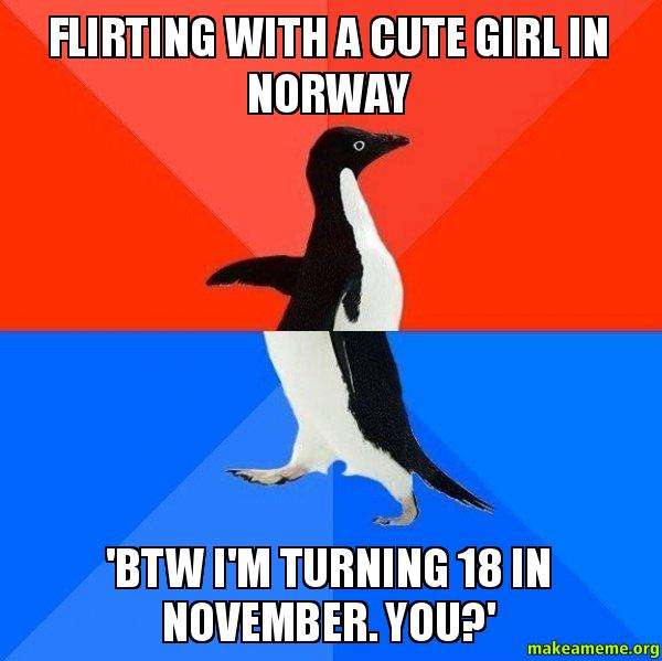 flirting meme awkward people meme images girls