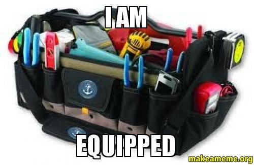 I AM EQUIPPED -   Make a Meme