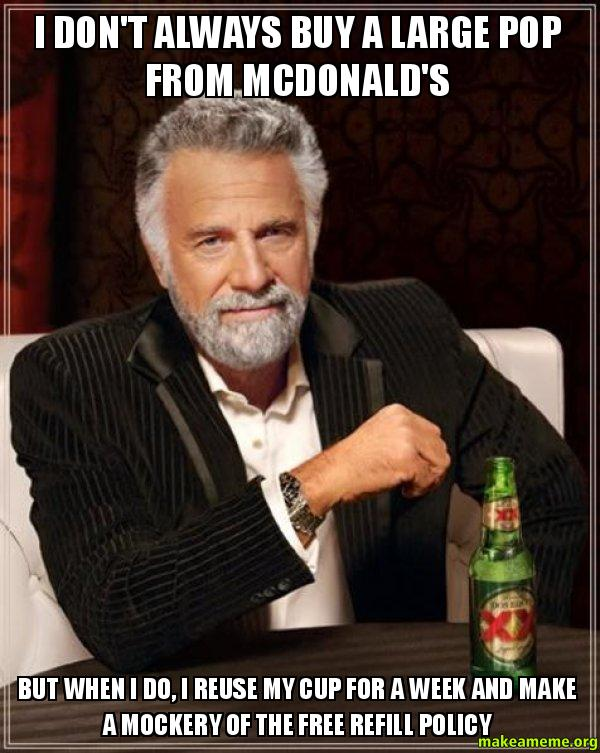 The Most Interesting Man in the World meme