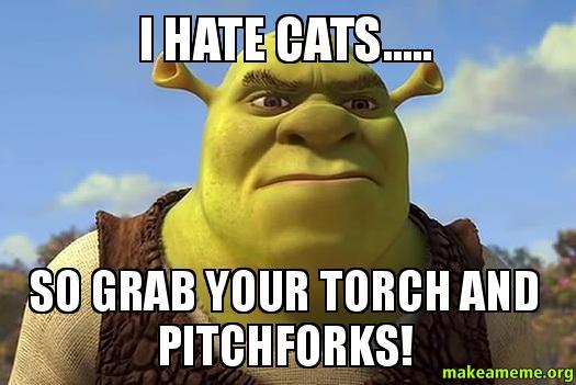 Hate Cats Meme