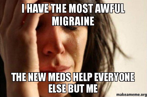 how to stop a migraine reddit