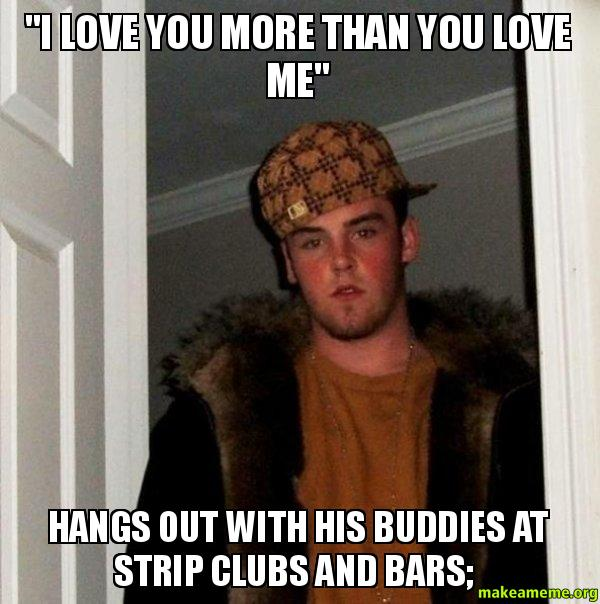 """I Love You More Meme: """"I Love You More Than You Love Me"""" Hangs Out With His"""