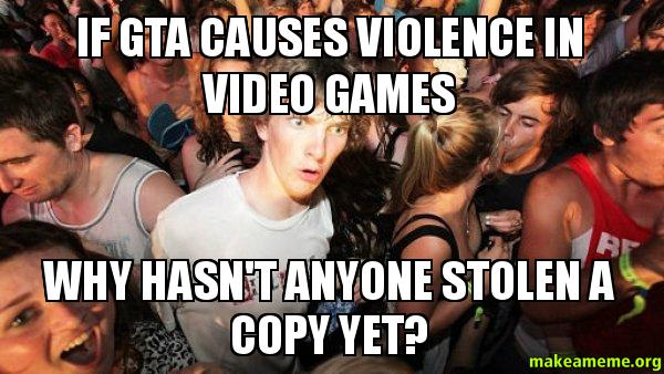 video games do not cause violence