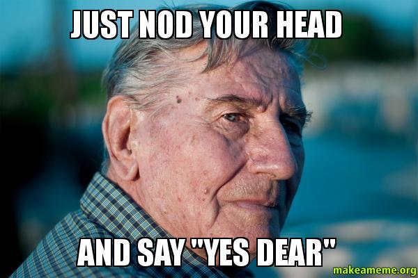 Funny Meme Saying Yes : Nodding yes memes