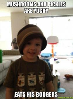 Scumbag Toddler meme