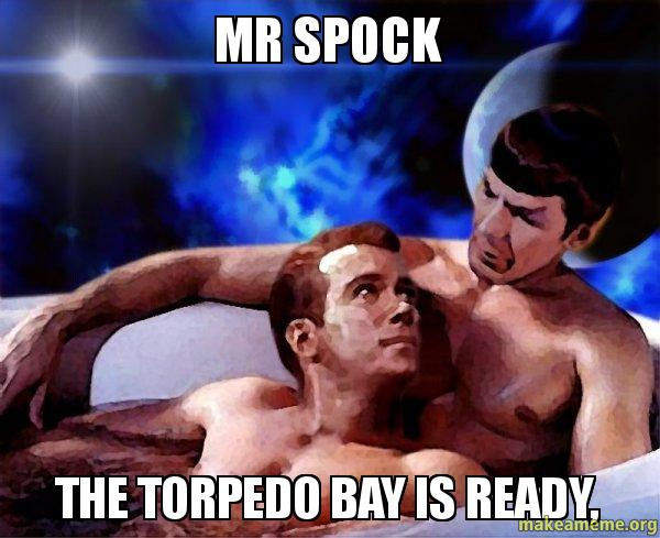 Spock and Kirk meme