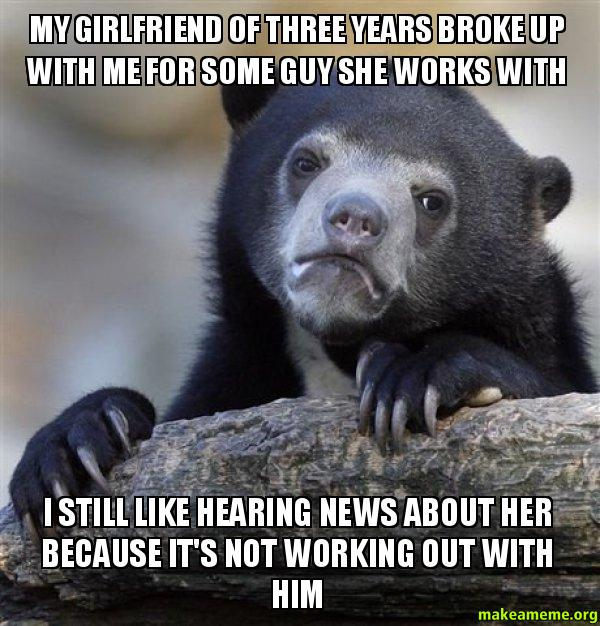 La mia ragazza di tre anni ha rotto con me per un ragazzo-2066