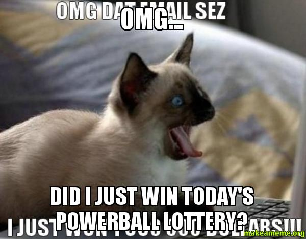 I just won million in lottery and here are the first 10