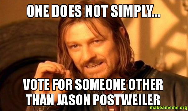 one does not simply one does not simply vote for someone other than ...