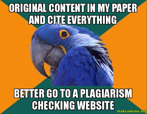 checking essays for plaigarism In order to know how to avoid plagiarism in your writing, you first need to know what plagiarism is once you know what it is, you can learn ways to avoid it.