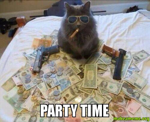 PARTY TIME - You Know It's...