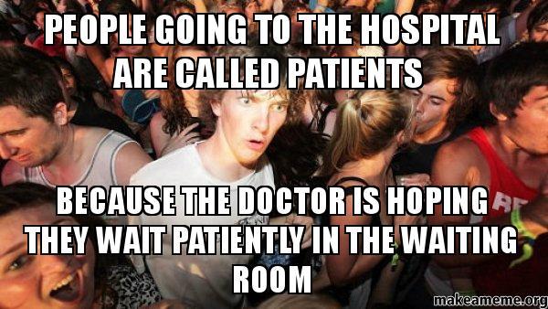 Magnificent Hospital Waiting Room Meme 600 x 338 · 56 kB · jpeg