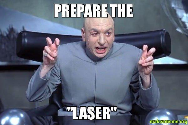 austin powers laser
