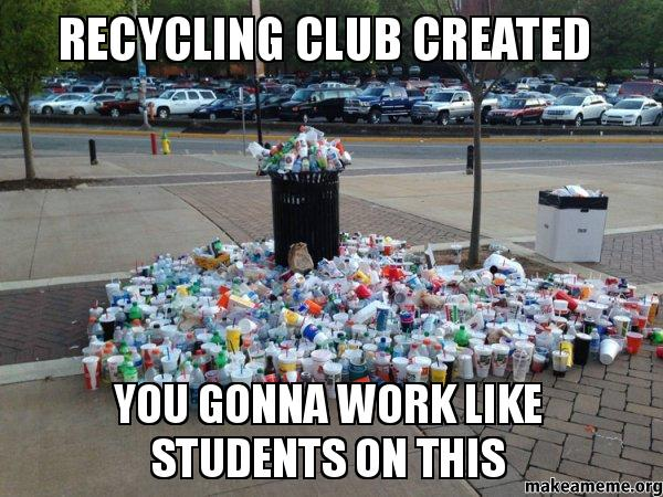 RECYCLING club created