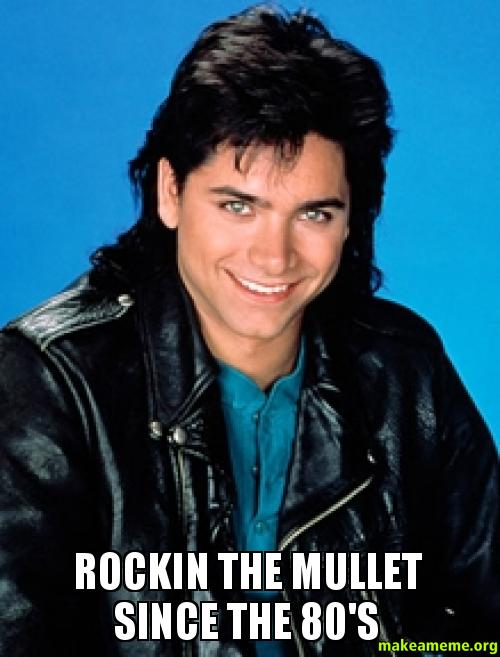 rockin the mullet since the 80 u0026 39 s