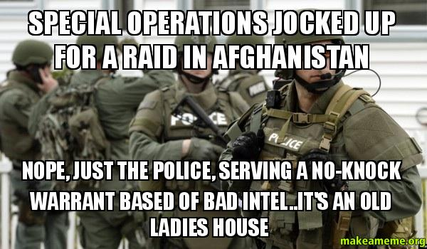 special operations jocked up for a raid in afghanistan