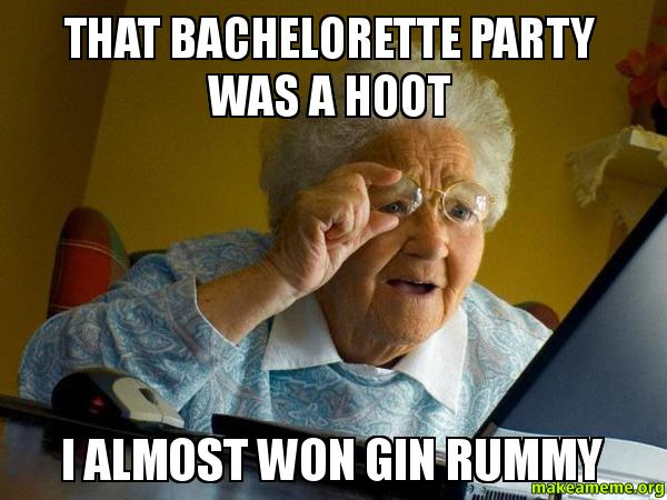 Image result for bachelorette party meme