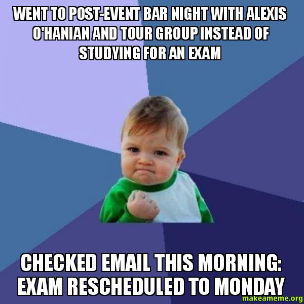 Alexis was studying for her sex ed class 9