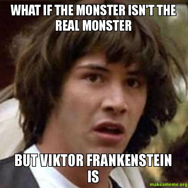 frankenstein essays who is the real monster