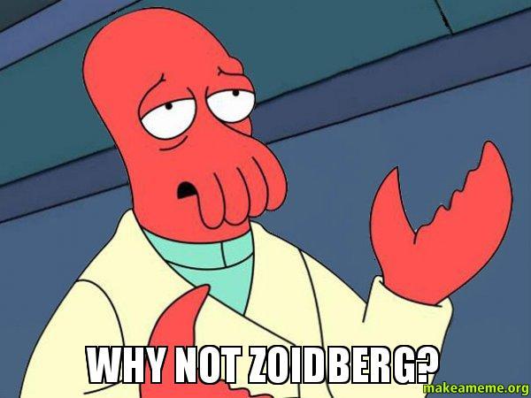 Why not Zoidberg?  Tricky Zoidberg  Make a Meme