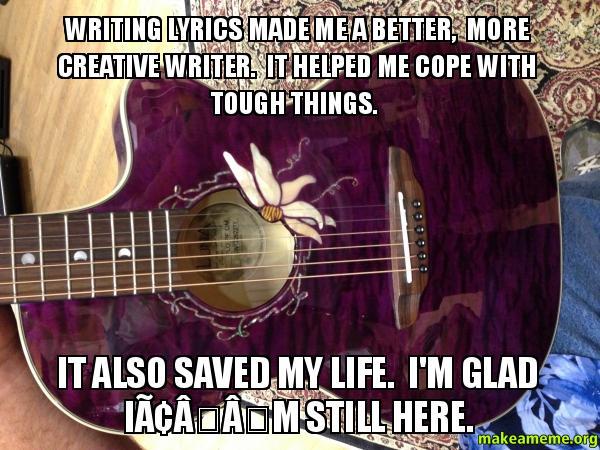 creative lyric writing