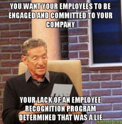 Image result for company recognition meme