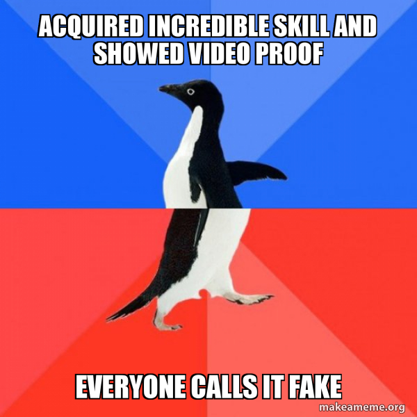 Socially Awkward Awesome Penguin meme