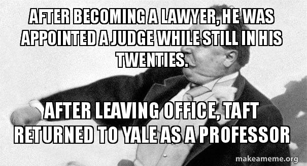 After becoming a lawyer, he was appointed a judge while still in his