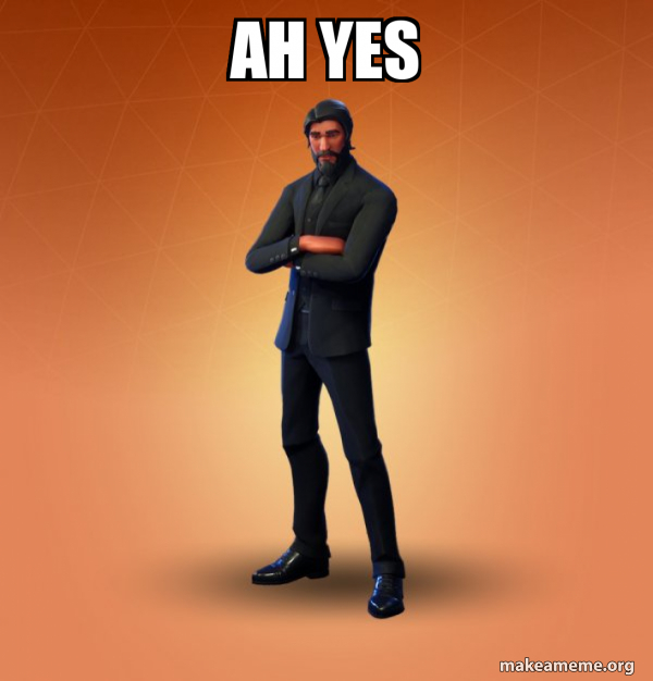 Fortnite The Reaper meme