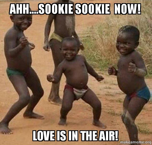 Aww sookie sookie now