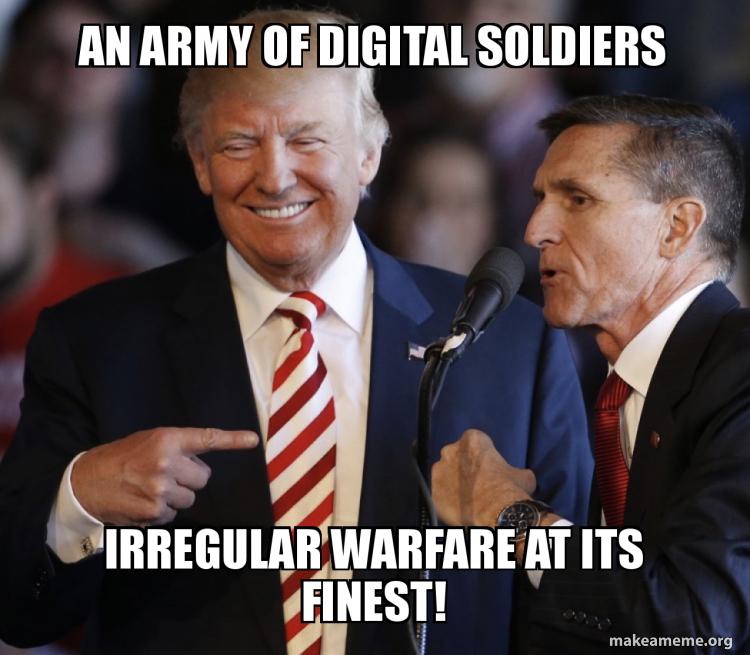 An ARmy of digital soldiers IRregular warfare at its finest ...