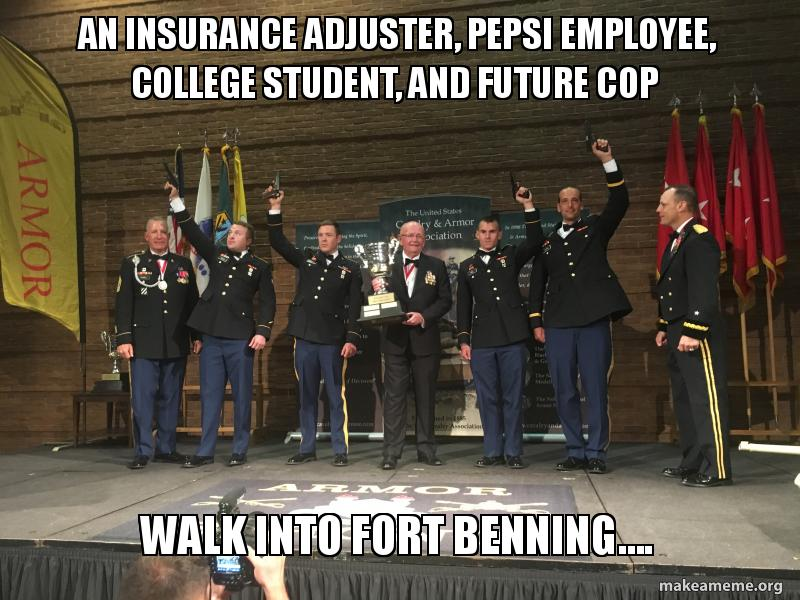 An Insurance Adjuster, Pepsi Employee, College Student ...