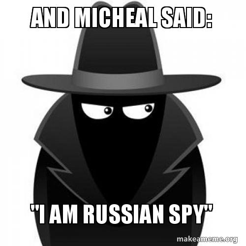 And Micheal said: