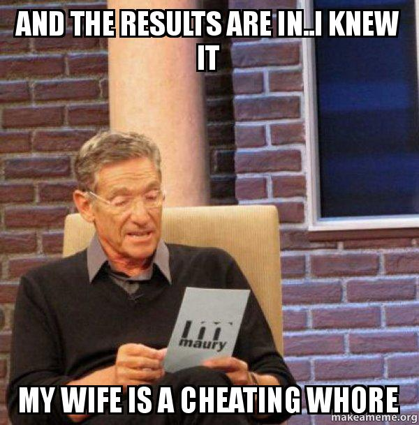 Cheating Wife Whore A Is