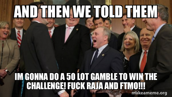 And then we told them meme