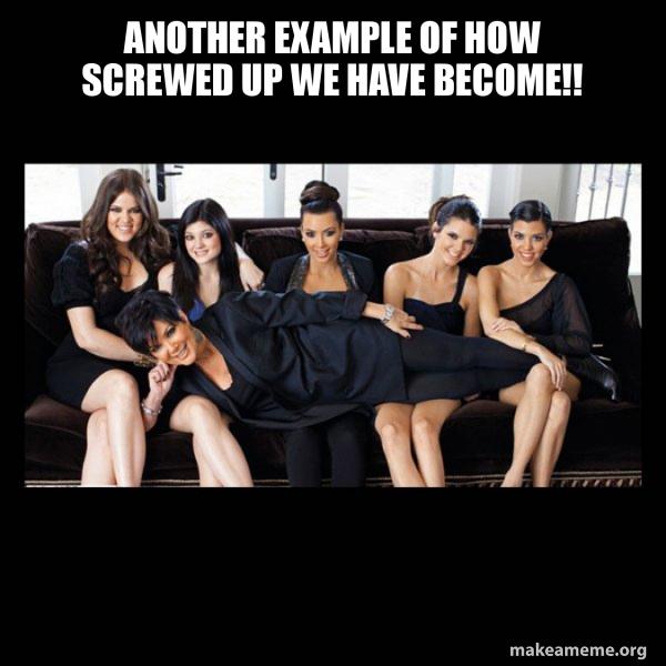 Kardashians meme