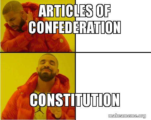 Articles Of Confederation Constitution