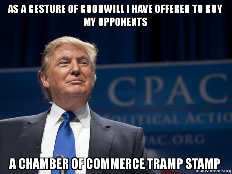 As a gesture of goodwill I have offered to buy my ... Goodwill