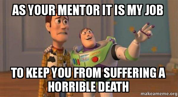 Image result for a mentor meme